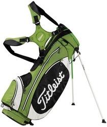 PU golf bag with stand