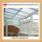 good design aluminum glass sunroom