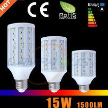Cost-saving Samsung smd5730 15w e27 light bulb led corn lamp dimmable Energy saving tube lamp