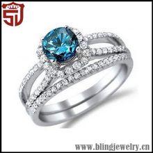 bajo precio actualizado de obsidiana exquisito plata anillo de piedras preciosas
