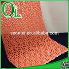 orange circle pattern Indian lace fabric Swiss lace fabric African lace fabric