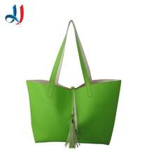 Trade Assurance Manufacture Waterproof Characteristics Elegance Lady Fashion PVC Handbag 2015
