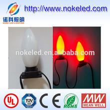 2014 new type outdoor used RGB led christmas decorative light bulbs