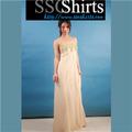 Sscshirts design confortável e macio barato vestido longo
