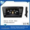 s100 menu car dvd player for Skoda Octavia 2013