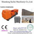 Pilar de cemento/poste de la cerca/prefabricados de hormigón del molde de la cerca