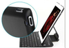 Hot selling wear-resistant/Heat resistant, bluetooth 3.0 keyboard for ipad4 ipad3 and ipad2 and iphone