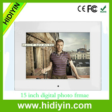 "15"" Slim Android Digital Picture WiFi Digital Frame photo"