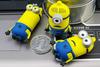 new arrival fashion minions vatop usb flash drive/bluetooth usb memory stick/label usb flash drive keychain with usb