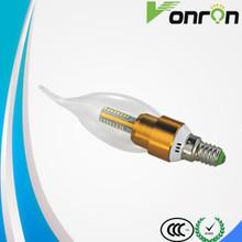 3w/4w candle bulbs /led light bulb china