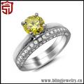 la parte superior de calidad superior 925 vender anillos de plata con piedra azul