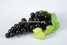 Plastica uva grappolo/senso superiore di gomma morbida simulazione False frutta stringa