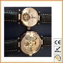 Luxury Tourbillon movement , unique, 18K GOLD customized luxury watch