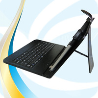leather stand case cover with wireless bluetooth keyboard for apple ipad air 5 5th