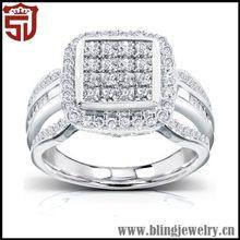 Popular New Style Trendy Diamond Ring Candy