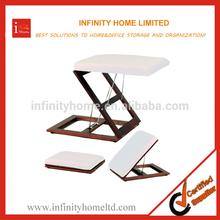 Cheap Adjustable Office Folding Footrest Stool