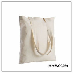 wholesale personalized recycled blank canvas tote shopping bags