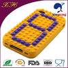 China Express 2014 New Products Number Changing Silicone Cell Phone Case