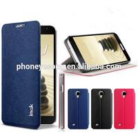 High quality Plain Flip PU Leather Case for Samsung Galaxy J N075T