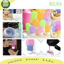 Hotel supplies durable bottle travel/plastic travel lotion bottles