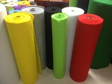 Needle punched nonwoven carpet extractor