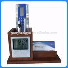 Calendar pen holder,promotional alarm clock,led digital desk clock