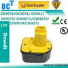 Power Tool Battery for Dewalt 12V 3.0Ah Ni-Cd DC9071 DE9037 397745-01