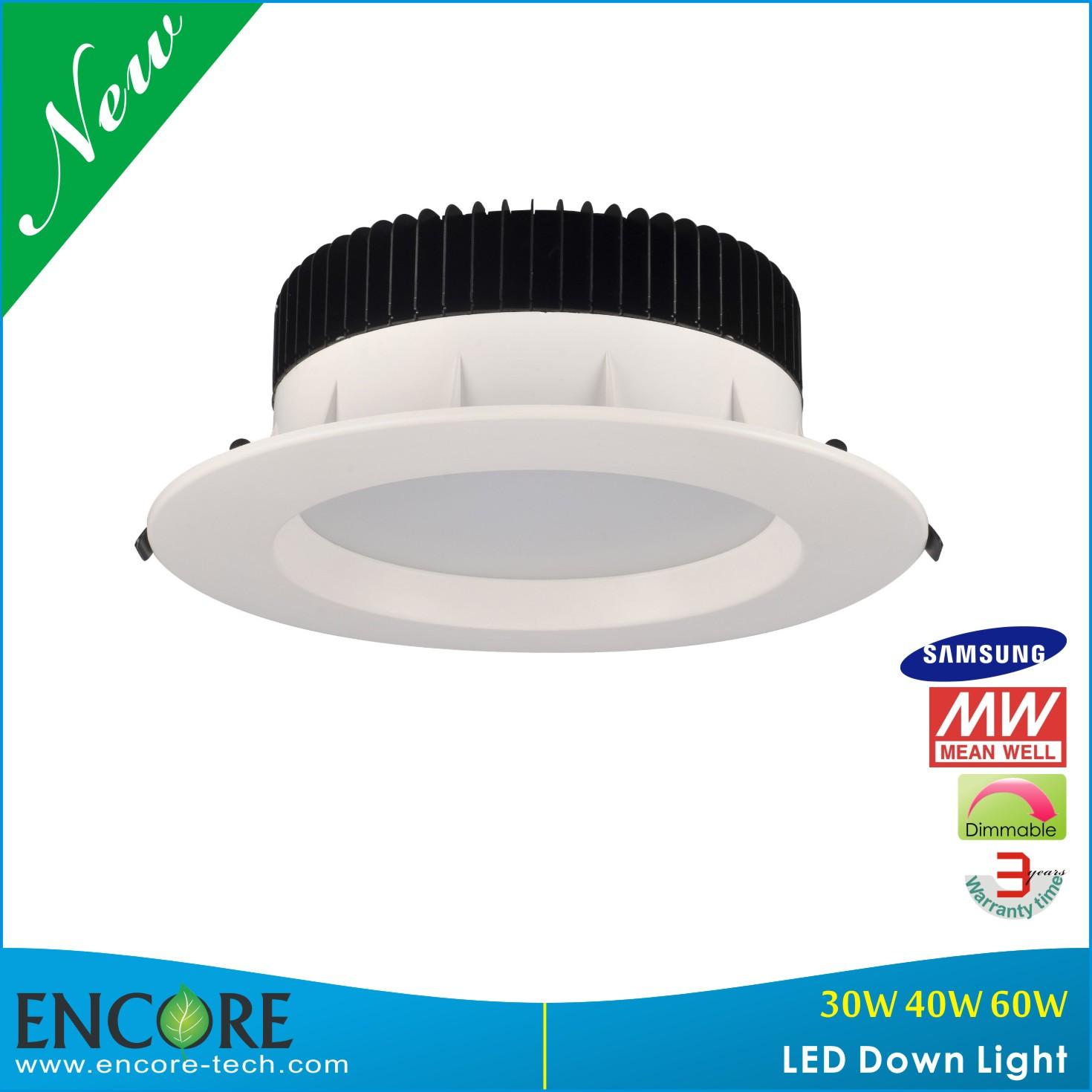 60w commercial electric led recessed ceiling lighting. Black Bedroom Furniture Sets. Home Design Ideas