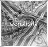 printed silk crepe chiffon