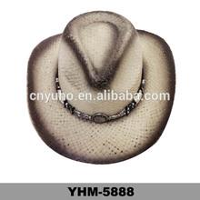 NEW Hats Shapeable River Raffia Straw Western Cowboy Hat Chin Strap NWT