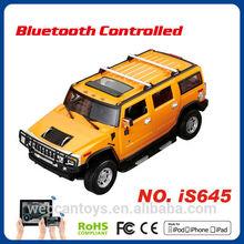 remote control car iOS Android control bluetooth car big hummer 1 14 toy car