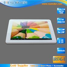 RK3188 RAM 2G ROM 8G Quad Core 9.7inch Tablet