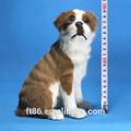 gerçekçi suni kürklü toptan kürk plastik peluş fransız bulldog