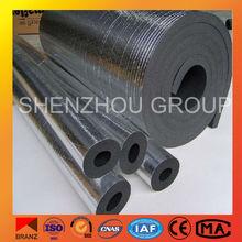 non-combustible rubber foam tube rubber inner tube material rubber foam tube