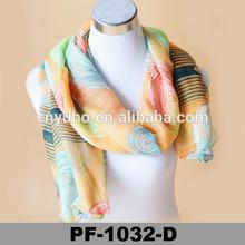 Paris Neck viscose Womens inner splendid Scarf korea Muffler for girl scarf Wrap