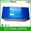 12V 30Ah LiFepO4 battery pack for back up power supply applicaiton