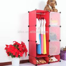 Portable creative environmental Diy closet organizer suncast storage cabinet kids FH-AL0523-3