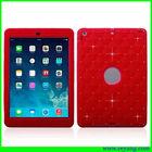 2 in 1 red diamond robot case for apple ipad mini
