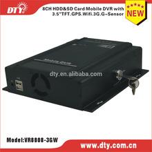 3g sim card camera 8 channel dvr, VR8808 series