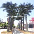 Artificial de árboles grandes para interiores& uso al aire libre, con frutas artificiales rey los árboles de coco