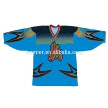 Male's custom printing ice hockey top