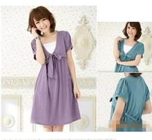 HOT FASHION DRESS FOR PREGNANT,LOOSE PATTERN,JAPAN FASHION MATERNITY DRESS