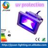 meanwell driver bridgelux IP65 CE RoHS 70w hot sale UV led flood light 390~420NM