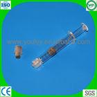 luer lock prefillable syringe for injection