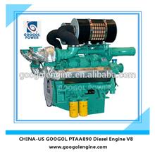 Marine Engine 4 Stroke V8 Small Boat Diesel Engine in China