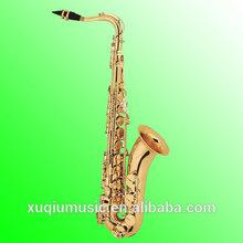XTN1001 Copy S elmer 80II Gold Lacquer Brass Tenor Saxophone for Sale