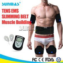 FDA approved ems slimming massager belt crazy fit massage spare parts