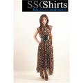 Sscshirts design confortável e macio barato clube vestido