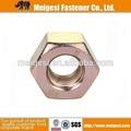 Din934 standart dadi esagonali, in acciaio al carbonio, giallo zinco- placcato