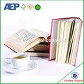 D'externalisationpromotionconception droit livre papier, flip book impression, livre blanc impression avec perforation